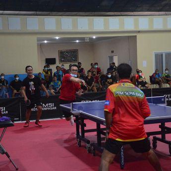 Walikota Denpasar BukaKejuaraan Tenis Meja Peringati Bulan Bung Karno