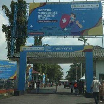 Pemerintah Kota Medan Menargetkan Vaksin 5.000 Orang per Hari