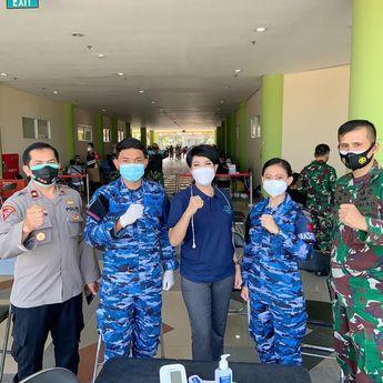 Bersama TNI, Polri, dan Kemenkes, Apindo Jabar Gelar Vaksinasi di Gor Arcamanik Bandung
