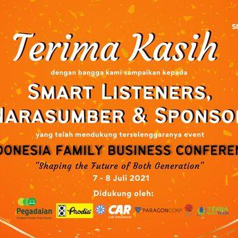 Indonesia Family Business Conference (IFBC) 2021, Penuh Catatan Menarik