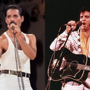 Freddy Mercury Bikin Tribute Lagu untuk Elvis Presley di Kamar Mandi Hanya 10 Menit