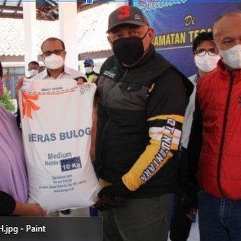 Pemkot Tegal Salurkan Bantuan Beras PPKM Darurat untuk 18.114 KK