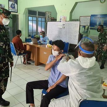 Ciptakan Herd Immunity, LANAL Banjarmasin Vaksinasi 7.348 Warga Kalsel