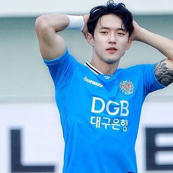 7 Potret Jeong Seung Won, Pemain Sepak Bola Kebanggan Korsel yang Dianggap Terlalu Tampan