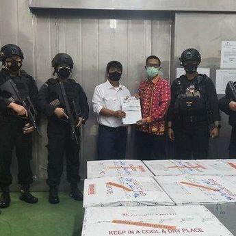 70.000 Dosis Vaksin Covid-19 Merek Moderna Tiba di Sumatera Utara