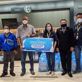 Donasi dari Pembaca Harian Kompas, DKK Serahkan Bantuan Paket Sembako Kepada Paroki ST. Yusuf Cirebon