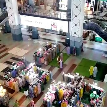 Operasional Mall di Palembang Dibatasi Pasca Diperpanjangnya PPKM Level 4