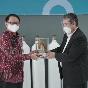 Bank Indonesia Perwakilan Jabar Serahkan Bantuan Tabung Oksigen ke Pemprov Jabar