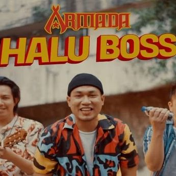 Rilis Lagu Baru, Ini Lirik Lagu 'Halu Boss' Milik Band Armada