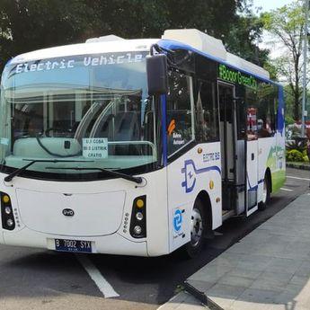 PLN UID Jawa Barat Lakukan Uji Coba Bus Listrik