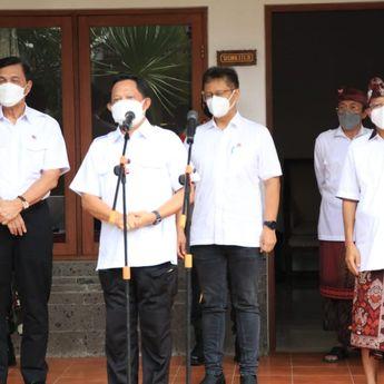 Gubernur Bali Dampingi Kunjungan Menko Marves, Mendagri, Menkes RI Tinjau Vaksinasi