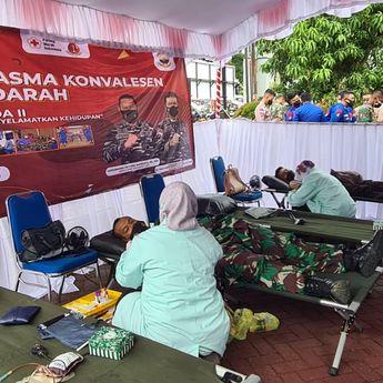 Libatkan Masyarakat Maritim, TNI AL–Lanal Banjarmasin Gelar Donor Plasma Konvalesen