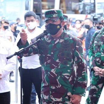 Panglima TNI : TNI-Polri Bekerja Spartan Sukseskan Vaksinasi