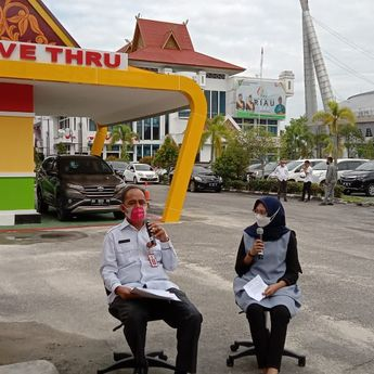 Pemprov Riau Hadirkan Samsat Drive Thru, Solusi Mudah Bayar Pajak di Masa Pandemi