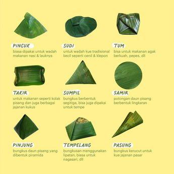 9 Jenis Pembungkus atau Alas Makan Ala Tradisi Masyarakat Jawa