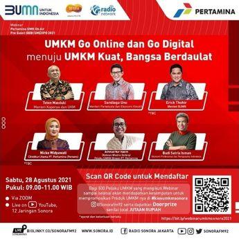 UMKM Go Online dan Go Digital Menuju UMKM Kuat, Bangsa Berdaulat