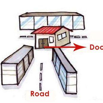 9 Solusi untuk Feng Shui Negatif yang Disebabkan oleh Jalan atau Jalan Raya