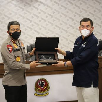 SKK Migas dan Polda Jawa Barat Tandatangi Perjanjian Kerja Sama Teknis Pengamanan Aset Hulu Migas