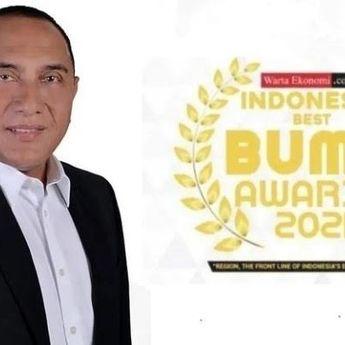 Gubernur Sumut, Edy Rahmayadi, Raih TOP Pembina BUMD Awards 2021