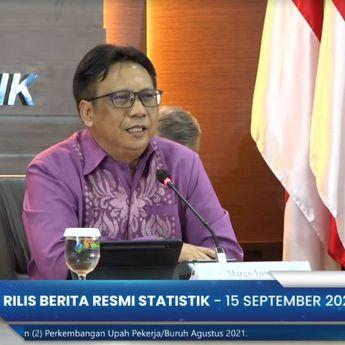 BPS Catat Nilai Ekspor Indonesia Bulan Agustus 2021 Mencapai 21,42 Miliar Dolar AS