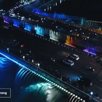 Semarang Bridge Fountain Kembali Aktif, Jangan Lewatkan Keseruannya!