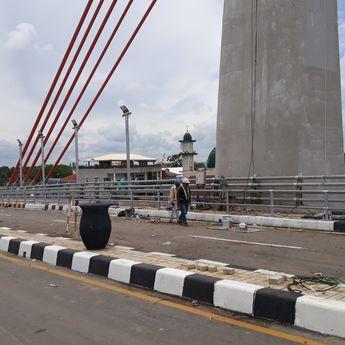 Sudah Rampung, Ketua DPRD Kalsel Desak Jembatan Alalak 2 Segera Dibuka