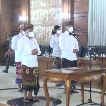 Pelantikan Anggota KPID Bali 2021-2024, Gubernur Koster Berharap Lakukan Penguatan Fungsi Pengawasan Siaran