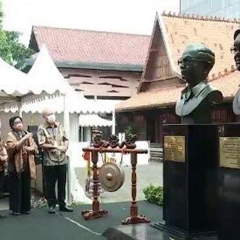 Patung Perintis KG Telah Diresmikan, Jusuf Kalla : Kedua Sosok yang Patut Dicontoh