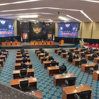 Rapat Paripurna DPRD DKI Jakarta Soal Interpelasi Diskors Karena Tidak Memenuhi Kuorum