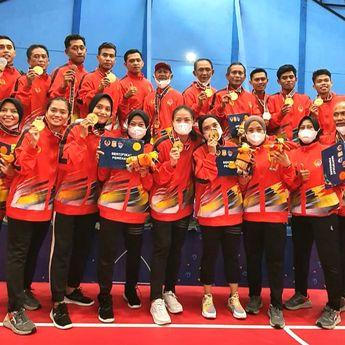 Hebat! Tim Takraw Quadrant Sulsel Kawinkan Medali Emas di PON XX Papua