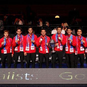 Anggota DPR Salahkan LADI Akibat Ketiadaan Merah Putih di Kemenangan Indonesia Pada Ajang Piala Thomas Cup