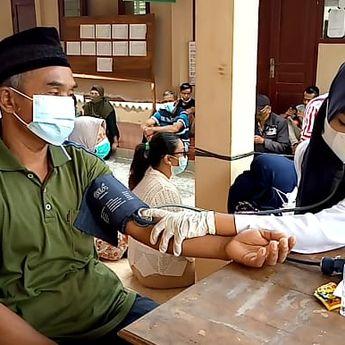 Kelurahan Pulutan Terus Kejar Target Tuntaskan Vaksin Covid-19