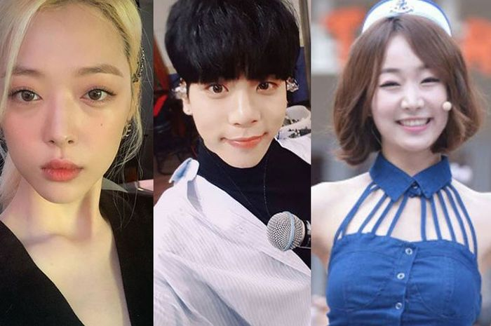 (Ki-Ka) Sulli f(x), Kim Jong Hyun SHINee, dan Sojin Kara