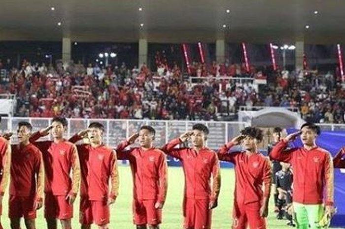 Timnas U-19 Indonesia vs Korea Utara