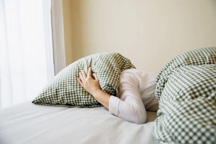 Ilustrasi susah tidur