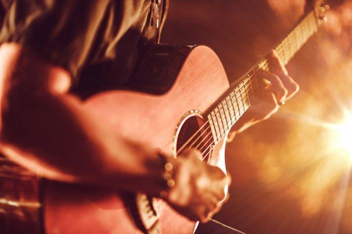 Ilustrasi gitar.