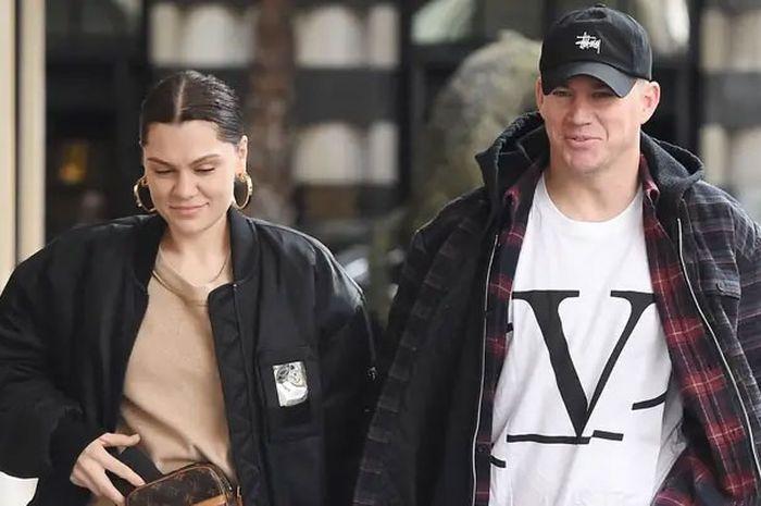 Jessie J bersama Channing Tatum.