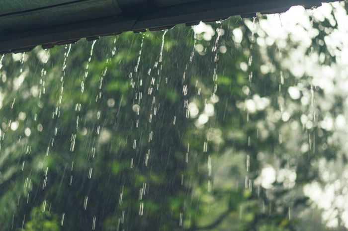Illustrasi Hujan