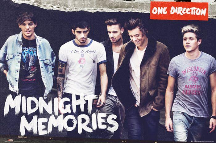 Lirik lagu 'Midnight Memories' - One Direction