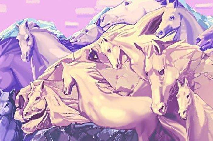 Tes Kejelian: Berapa Jumlah Kuda yang Kamu Lihat? Jawabanmu Ungkap Kepribadianmu