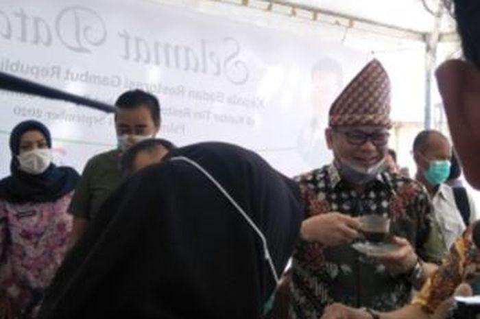 Kepala Badan Restorasi Gambut Republik Indonesia (BRG RI) Nazir Foead