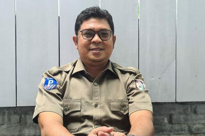 Direktur utama PD Parkir Makassar Raya, Irham Syah Gaffar