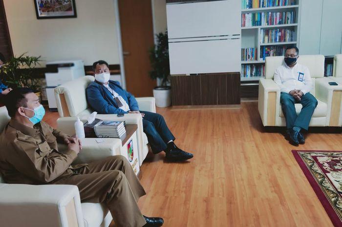 Pimpinan Bank BNI Syariah Siapkan Roadmap untuk Bersama Wujudkan Visi Pekanbaru