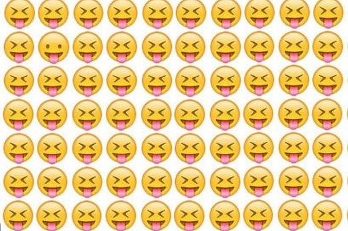 Mudah, Tes Kejelian dan Ketelitian Mata dengan Temukan Emoticon yang Berbeda