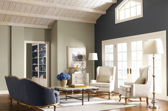 Ilustrasi ruang tamu