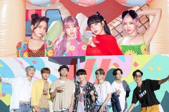 BTS dan BLACKPINK berhasil masuk ke dalam 100 top songs 2020 versi Billboard