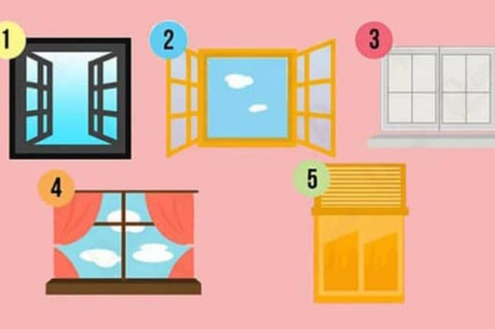 Tes Kepribadian, jendela mana yang kamu pilih?