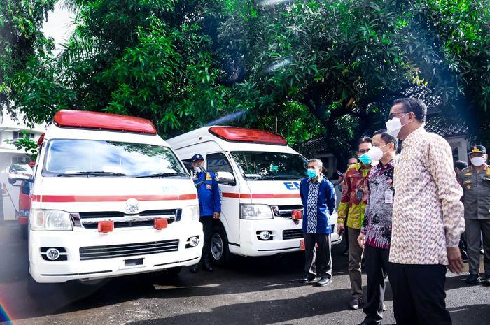 Sulsel kembali terima hibah mobil Damkar dan Ambulans dari Jepang