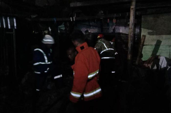 Kebakaran di jl sungai preman Makassar