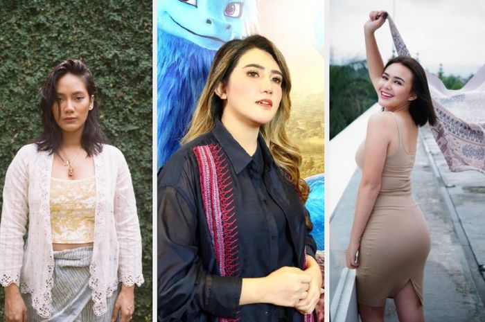 8 artis Indonesia yang membuktikan kalau badan berisi justru semakin mempesona.